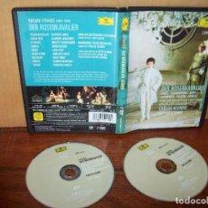 Vídeos y DVD Musicales: DER ROSENKAVALIER DE STRAUS - CARLOS KLEIBER- DIRIGIDA POR OTTO SCHENK - DOBLE DVD. Lote 83157220