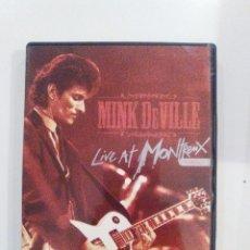Vídeos y DVD Musicales: MINK DEVILLE LIVE AT MONTREUX 1982 (2008 EAGLE) 68 MINUTOS EXCELENTE ESTADO WILLY DE VILLE. Lote 83691092