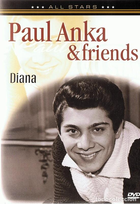 DVD PAUL ANKA & FRIENDS DIANA (Música - Videos y DVD Musicales)