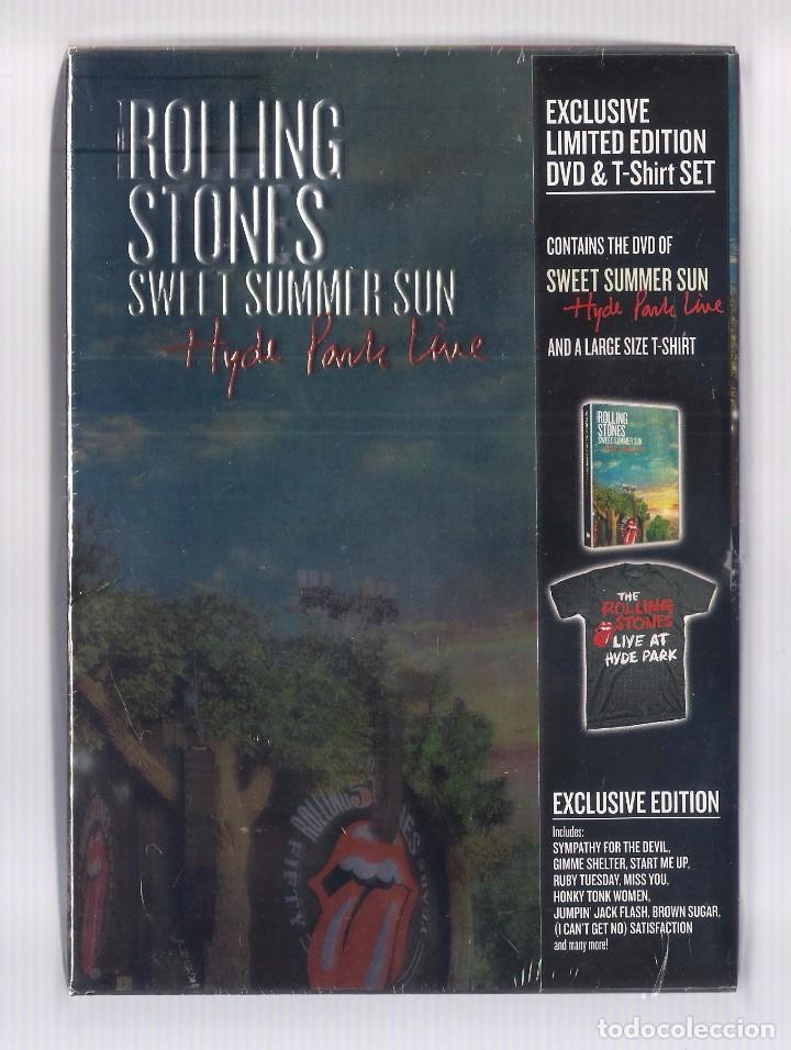 THE ROLLING STONES - SWEET SUMMER SUN. HYDE PARK LIVE (CAJA DVD + CAMISETA, ED. LIMITADA) PRECINTADO (Música - Videos y DVD Musicales)