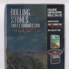 Vídeos y DVD Musicales: THE ROLLING STONES - SWEET SUMMER SUN. HYDE PARK LIVE (CAJA DVD + CAMISETA, ED. LIMITADA) PRECINTADO. Lote 221661102