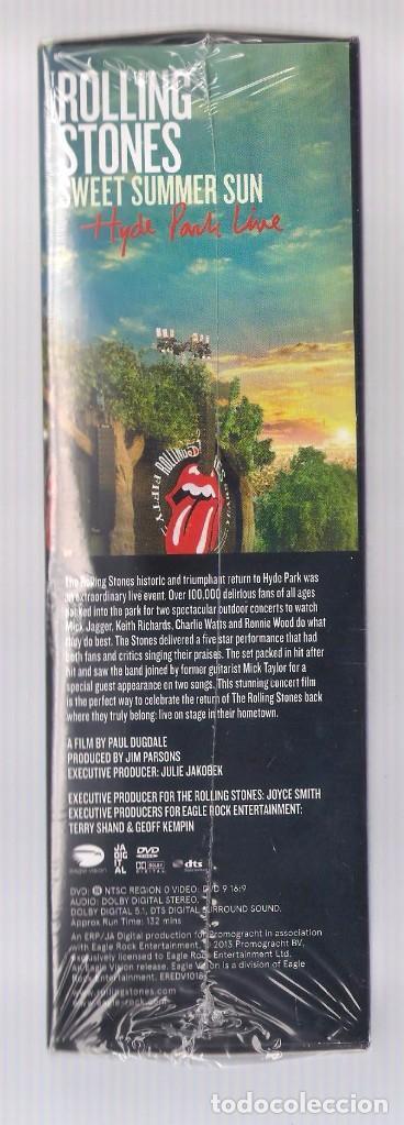 Vídeos y DVD Musicales: THE ROLLING STONES - Sweet Summer Sun. Hyde Park Live (caja DVD + camiseta, ed. limitada) PRECINTADO - Foto 3 - 83891304