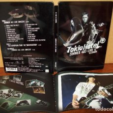 Vídeos y DVD Musicales: TOKIO HOTEL - ZIMMER 483 LIVE IN EUROPE - DOBLE DVD + CD ESPECIAL CAJA METALICA. Lote 198777097