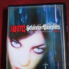 Vídeos y DVD Musicales: DVD THE 69 EYES - HELSINKI VAMPIRES LIVE AT TAVASTIA. Lote 84326016