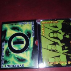 Vídeos y DVD Musicales: DVD TIPE O NEGATIVE SYMPHONY FOR THE DEVIL (DVD/CD) MOONSPELL,THE 69 EYES SENTENCED,CANDLEMASS,KATAT. Lote 84326184