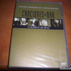 Vídeos y DVD Musicales: DVD CANCIONES DE ORO. LA DECADA DE LOS 90. II. EDICION PLANETA. NUEVO PRECINTADO.. Lote 84643508