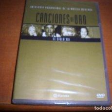 Vídeos y DVD Musicales: DVD CANCIONES DE ORO, EL SIGLO XXI. EDICION PLANETA. NUEVO PRECINTADO.. Lote 84643904