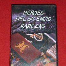 Vídeos y DVD Musicales: HEROES DEL SILENCIO RAREZAS VHS - BUNBURY. Lote 12525437