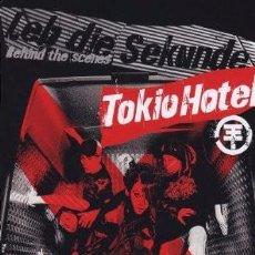 Vídeos y DVD Musicales: TOKIO HOTEL - LEB DIE SEKUNDE (BEHIND THE SCENES) [ALEMANIA] [DVD] ESTUCHE DE CARTÓN. Lote 84817628
