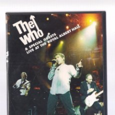 Vídeos y DVD Musicales: THE WHO - THE WHO & SPECIAL GUESTS LIVE AT THE ROYAL ALBERT HALL (2DVD 2001, MCY 74321 89021 9). Lote 84914088