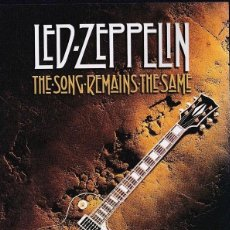Vídeos y DVD Musicales: LED ZEPPELIN - THE SONG REMAINS THE SAME . Lote 85573996