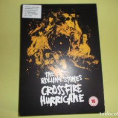 Vídeos y DVD Musicales: THE ROLLING STONES CROSSFIRE HURRICANE 134 MINUTOS. Lote 86201268