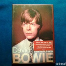 Vídeos y DVD Musicales: DAVID BOWIE: LOVE YOU TILL TUESDAY. FOR THE FIRST TIME ON DVD. Lote 86319680