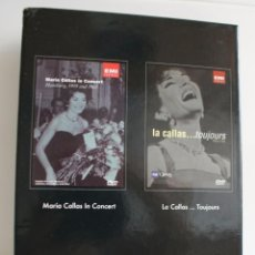 Vídeos y DVD Musicales: MARIA CALLAS. HAMBURG 1959 AND 1962.PACK 2DVD ORIGINALS. . Lote 86765376
