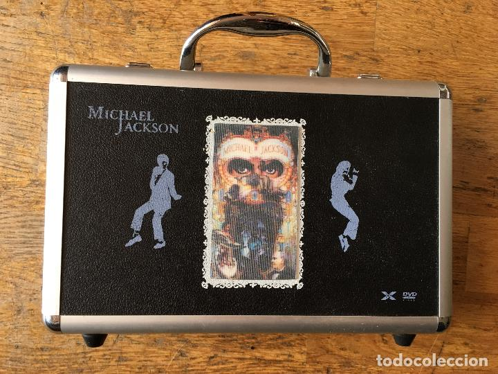 MICHAEL JACKSON (DANGEROUS) COLECCION ULTIMATE MALETA COMPLETA CON LOS 32 DVD Y 1 CD (AT) (Música - Videos y DVD Musicales)