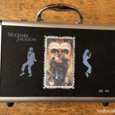Vídeos y DVD Musicales: MICHAEL JACKSON (DANGEROUS) COLECCION ULTIMATE MALETA COMPLETA CON LOS 32 DVD Y 1 CD (AT). Lote 87950376