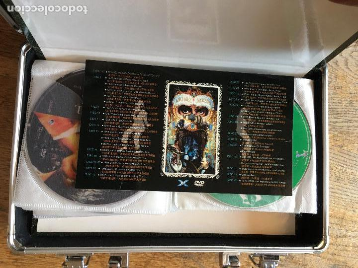 Vídeos y DVD Musicales: MICHAEL JACKSON (DANGEROUS) COLECCION ULTIMATE MALETA COMPLETA CON LOS 32 DVD Y 1 CD (AT) - Foto 3 - 87950376