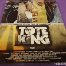 Vidéos y DVD Musicaux: TOTE KING (TOTEKING) - TENGO QUE VOLVER A CASA (THE DOCUMENTARY) - DVD DIGIPACK PRECINTADO. Lote 89053748