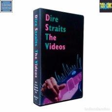 Vídeos y DVD Musicales: DIRE STRAITS / THE VIDEOS / POLYGRAM / VHS 1992. Lote 89279068