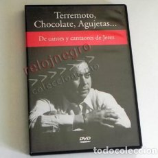 Vídeos e DVD Musicais: TERREMOTO CHOCOLATE AGUJETAS - DE CANTES Y CANTAORES JEREZ DVD VÍDEO FLAMENCO MÚSICA EL SORDERA RBA. Lote 90024112