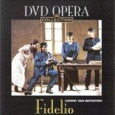 Vídeos y DVD Musicales: DVD OPERA ¨FIDELIO¨ LUDWING VAN BEETHOVEN . Lote 90357372