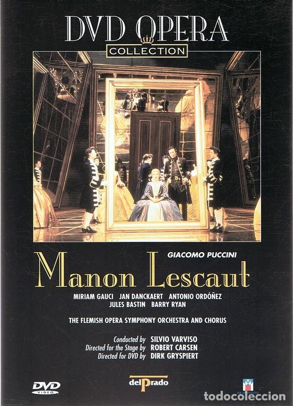 DVD OPERA ¨MANON LESCAUT¨ GIACOMO PUCCINI (Música - Videos y DVD Musicales)