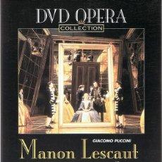 Vídeos y DVD Musicales: DVD OPERA ¨MANON LESCAUT¨ GIACOMO PUCCINI . Lote 90358232