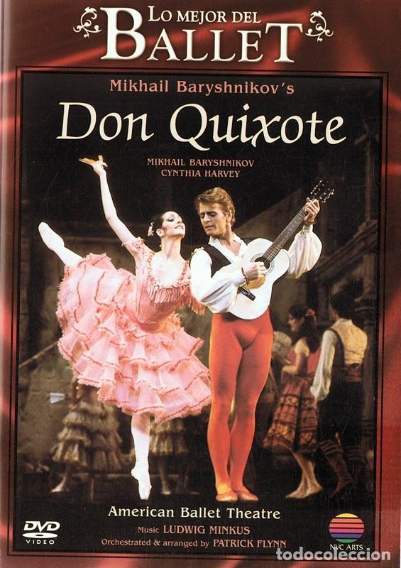 DVD LO MEJOR DEL BALLET ¨DON QUIXOTE¨ (Música - Videos y DVD Musicales)