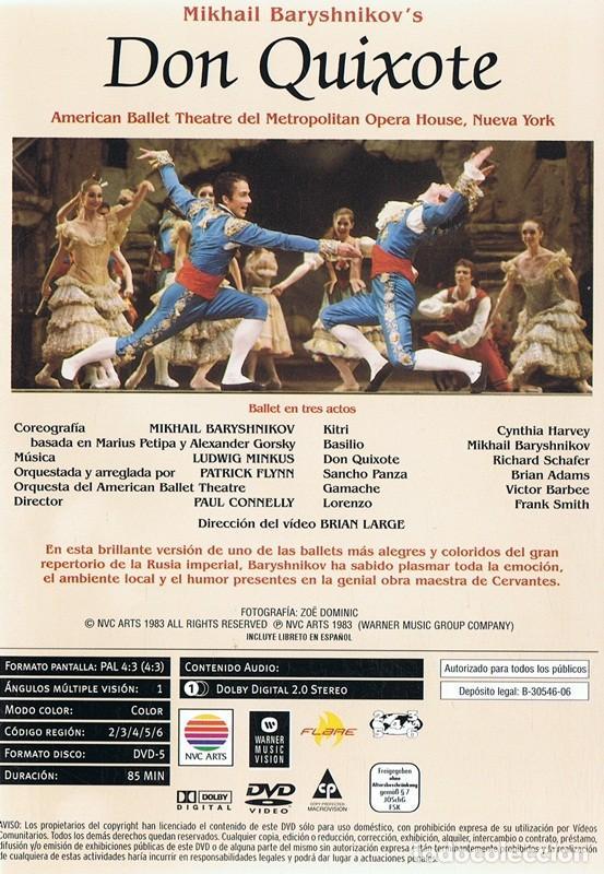 Vídeos y DVD Musicales: DVD LO MEJOR DEL BALLET ¨DON QUIXOTE¨ - Foto 2 - 90518970