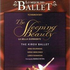 Vídeos y DVD Musicales: DVD LO MEJOR DEL BALLET ¨THE SLEEPING BEAUTY¨ TCHAIKOVSKY. Lote 90524700