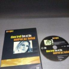 Vídeos e DVD Musicais: 918- DIANA KRALL LIVE AT THE MONTREAL JAZZ FESTIVAL ( DVD) UMMUSIC CA /2004. Lote 90544960