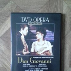 Vídeos y DVD Musicales: DVD OPERA COLLECTION - MOZART - DON GIOVANNI. Lote 90605215