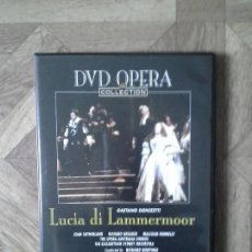 Vídeos y DVD Musicales: DVD OPERA COLLECTION - DONIZETTI - LUCIA DI LAMMERMOOR. Lote 90605455