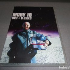 Vídeos y DVD Musicales: 918- MOBY 18 - DVD + B SIDES -- 2003 ( DVD RUNNING APROX 5 HORAS). Lote 155596378