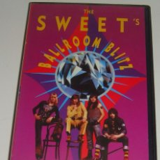 Vídeos y DVD Musicales: VHS - THE SWEET'S - BALLROOM BLITZ - THE SWEET - VHS. Lote 90869830