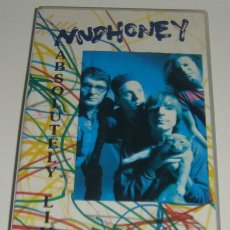 Vídeos y DVD Musicales: VHS - MUDHONEY - ABSOLUTELY LIVE - MUDHONEY - VHS. Lote 90870175
