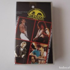 Vídeos y DVD Musicales: QUEEN - WE WILL ROCK YOU. LIVE IN CONCERT. Lote 92122365