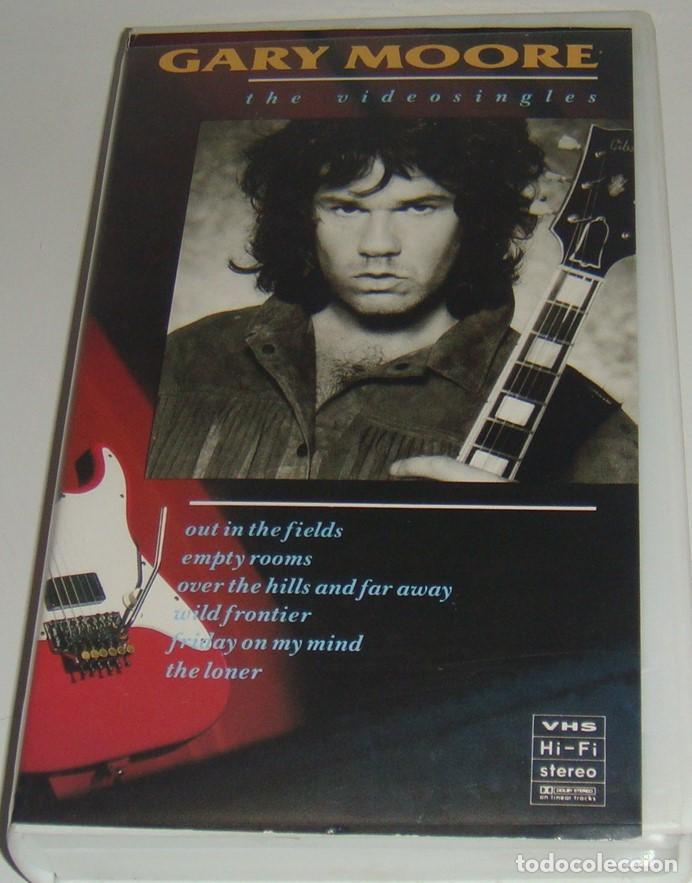 VHS - GARY MORE - THE VIDEO SINGLES - GARY MOORE - VHS (Música - Videos y DVD Musicales)