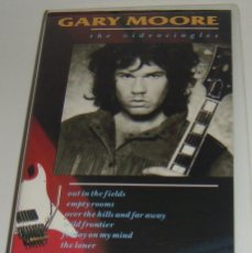 Vídeos y DVD Musicales: VHS - GARY MORE - THE VIDEO SINGLES - GARY MOORE - VHS. Lote 194256910