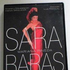 Vídeos y DVD Musicales: SARA BARAS - MARIANA PINEDA SOBRE IDEA DE FEDERICO GARCÍA LORCA DVD FLAMENCO ARTE - MANOLO SANLÚCAR. Lote 93807540