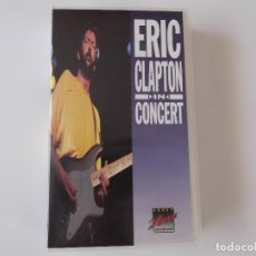 Vídeos y DVD Musicales: ERIC CLAPTON - IN CONCERT. Lote 93826170