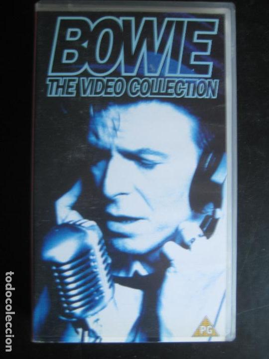 VHS DAVID BOWIE The video Collection Space Oddity, Life on Mars, Ashes to  ashes, Fashion, Blue Jean