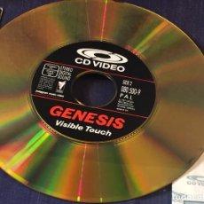 Vídeos y DVD Musicales: GENESIS VISIBLE TOUCH CD VIDEO 8 VIDEOS MUY BUEN ESTADO POLYGRAM 1987 PAL. Lote 94314546