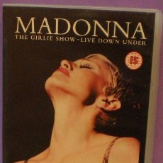 Vídeos y DVD Musicales: MADONNA - THE GIRLIE SHOW - LIVE DOWN UNDER - VHS. Lote 94433358