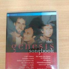 Vídeos e DVD Musicais: THE GENESIS SONGBOOK. Lote 94743999