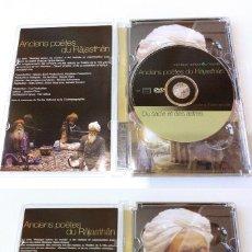 Vídeos y DVD Musicales: CONCERT ANCIENS POÈTES DU RÂJASTHÂN + DU SABLE TE DES ASTRES. Lote 94895283