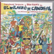 Vídeos y DVD Musicales: DVD 2 DISCOS. EL MILAGRO DE CANDEAL. CARLINHOS BROWN. 126 Y 50 MINUTOS (SEMINUEVOS). Lote 95310907