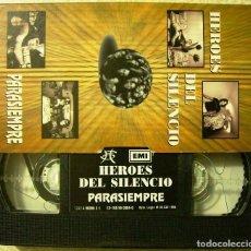 Vídeos y DVD Musicales: HEROES DEL SILENCIO.PARA SIEMPRE...VHS PROMO. Lote 95492875