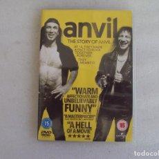 Vídeos y DVD Musicales: ANVIL, THE STORY OF ANVIL, DVD EDICION INGLESA 2008, . Lote 95514443