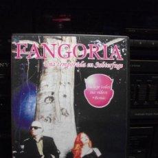 Vídeos y DVD Musicales: DVD FANGORIA, UNA TEMPORADA EN SUBTERFUGE, NUEVO, NACHO CANUT, ALASKA. Lote 95706491